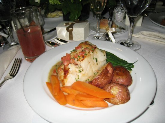 Doral Arrowwood:                   chilean sea bass, soft delicious and giant proportion