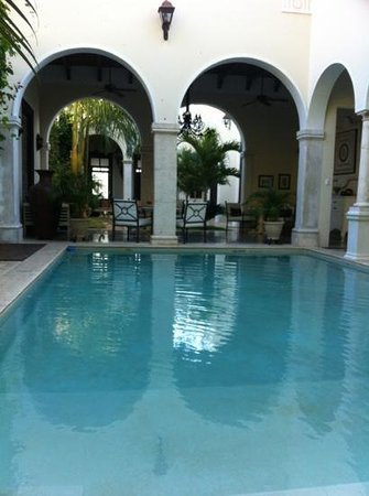 Casa Lecanda Boutique Hotel:                   Swimming pool
