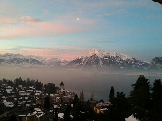 Oberhofen am Thunersee, Switzerland: Aussicht1
