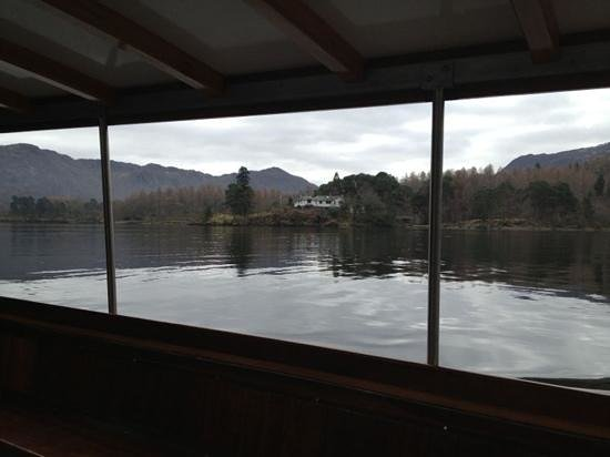 Seven Oaks Guest House:                   Derwent Water from the launch boat