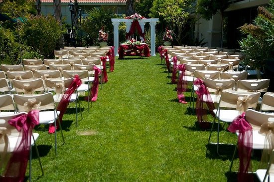 Silicon Valley Hotel San Jose Airport: Out Door Wedding