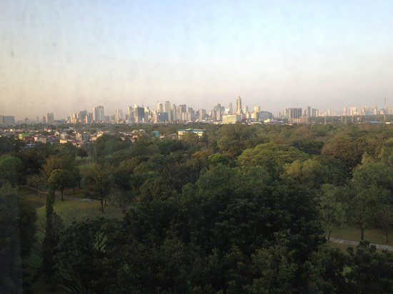 Manila Marriott Hotel:                   View of Makati from 6th floor Golf Course view
