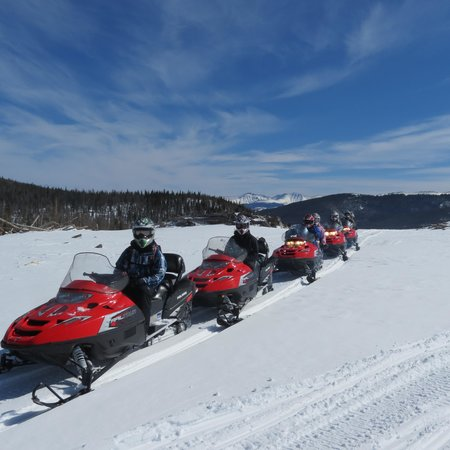 Parshall, CO:                                     Aspen Canyon Ranch Snowmobiling