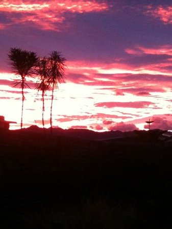 The Fairways:                   Kaikoura Sunset