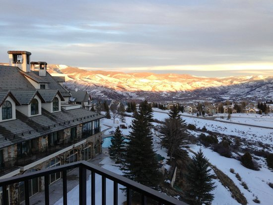 Lodge & Spa at Cordillera:                   view from our balcony at sunset - amazing