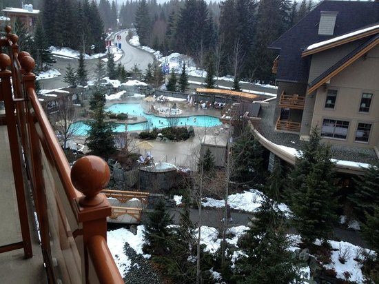 Four Seasons Resort and Residences Whistler:                   Pool complex