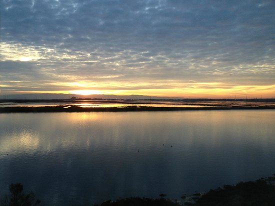 TownePlace Suites Redwood City Redwood Shores:                   Sunrise view from our window