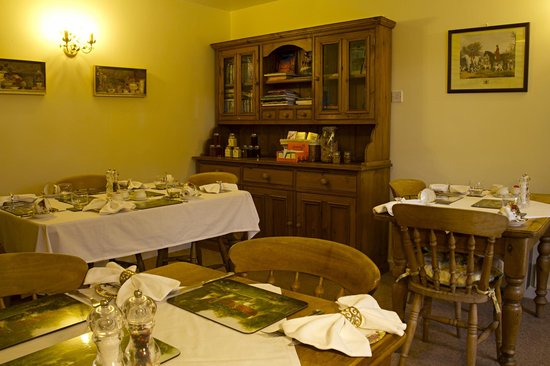 Pucklechurch, UK: Guests' dining room