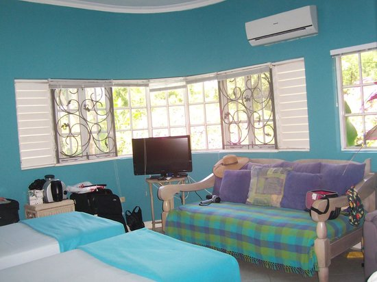 The Blue House Boutique Bed & Breakfast:                                     Caribbean Dreams Room
