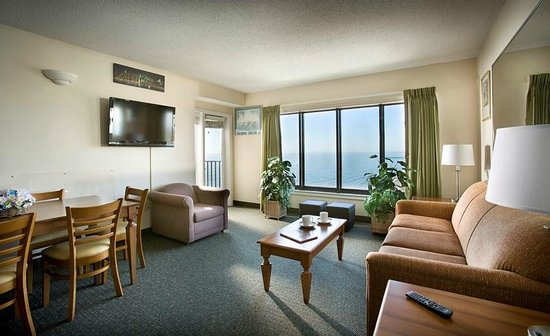 Angle Oceanfront 2 Bedroom Picture Of The Palace Resort Myrtle Beach Tripadvisor