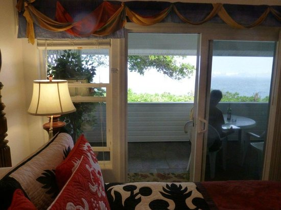 The Bay House:                   Bay Room Lanai