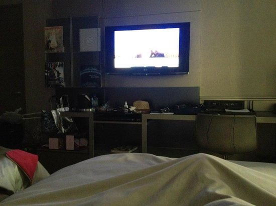 W New York - Times Square: Nice TV in Room