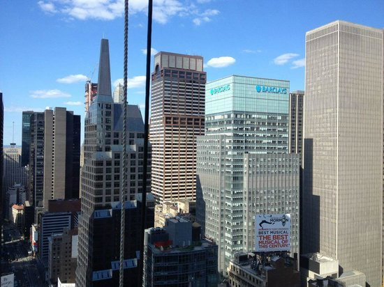 W New York - Times Square: Daytime view from room