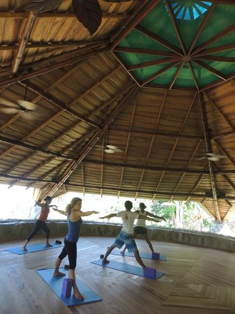 La Cusinga Eco Lodge: Yoga