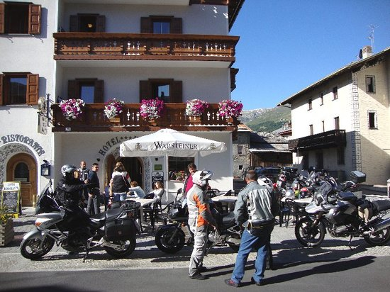 Hotel Krone: motociclisti