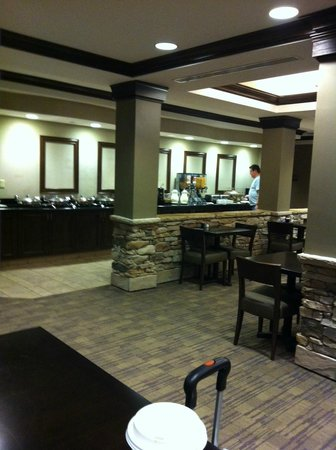 HYATT house Sterling/Dulles Airport-North: Breakfast Bar