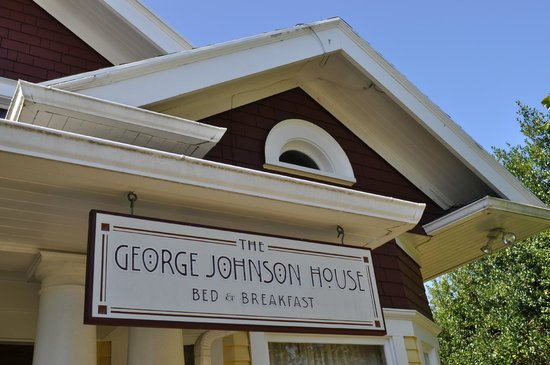 The George Johnson House: -