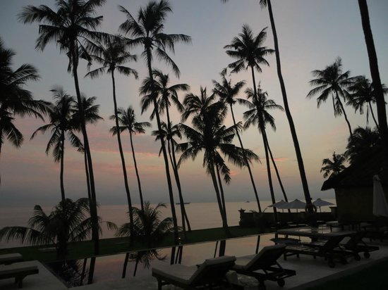 Kubu Indah Dive & Spa Resort:                   View from dining terrace