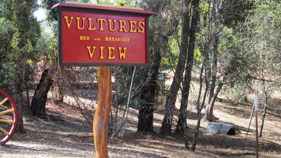 Vulture's View Bed and Breakfast:                   entry