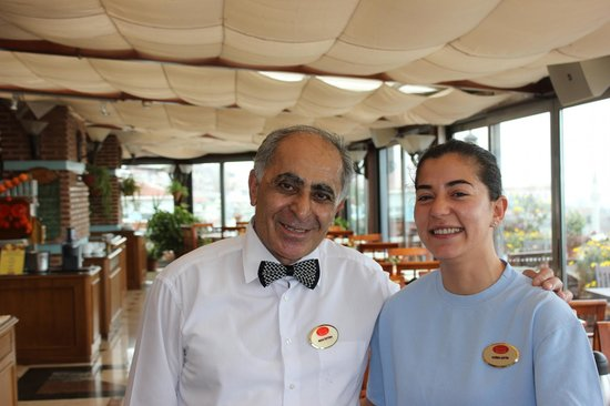 Friendly people of Aziyade Hotel