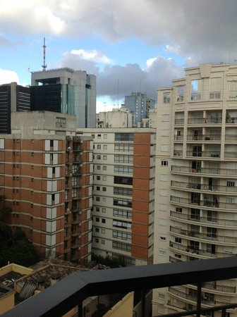 Mercure Sao Paulo Alamedas:                   View from balcony