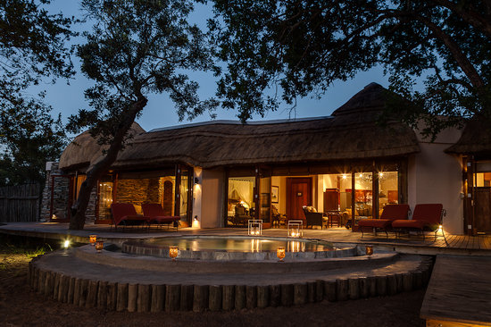 Manyeleti Game Reserve, South Africa: Presidential Exterior