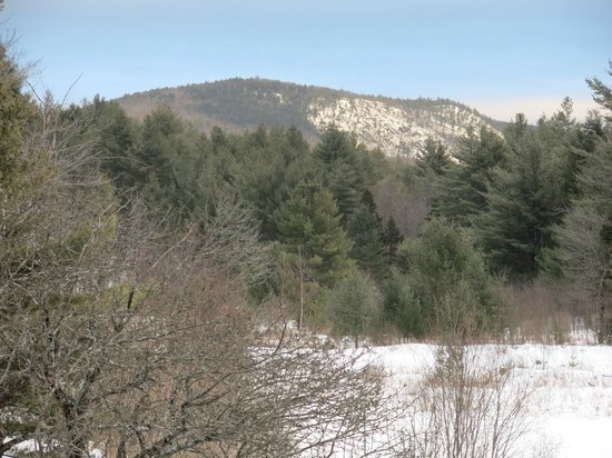 Jamaica, VT: View of Shatterack Mountain