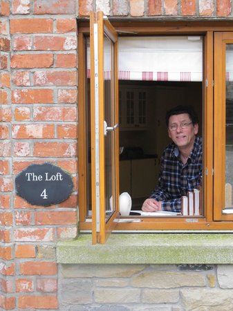 Decoy Country Cottages:                   From the kitchen window...