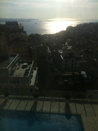 The Marmara Taksim:                   Beautiful view