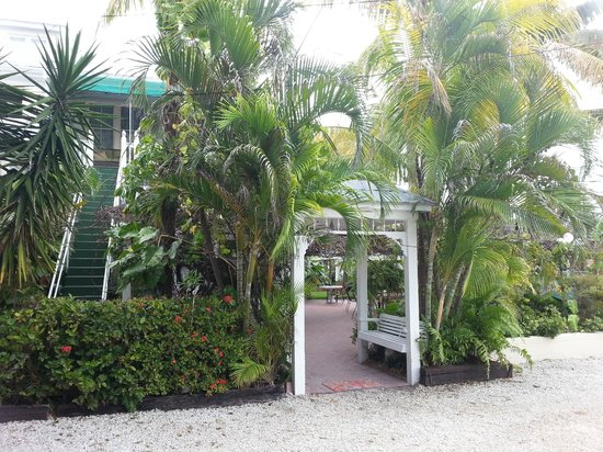 Southernmost Point Guest House:                   le jardin