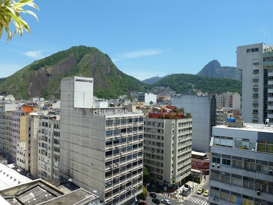 Hotel Mar Palace Copacabana: View from rooftop in the day