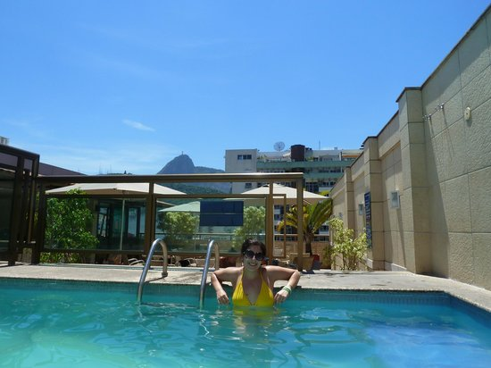 Hotel Mar Palace Copacabana: Rooftop pool