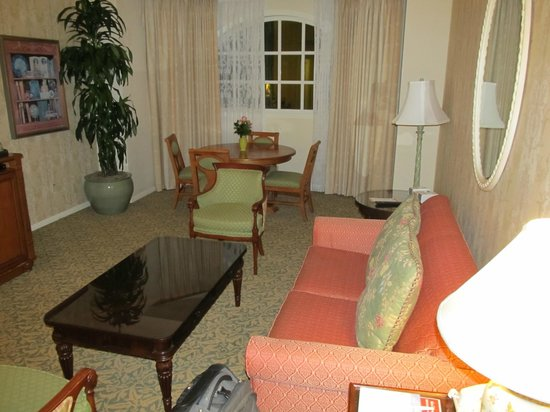 Disney's Grand Floridian Resort and Spa:                   Suite Area