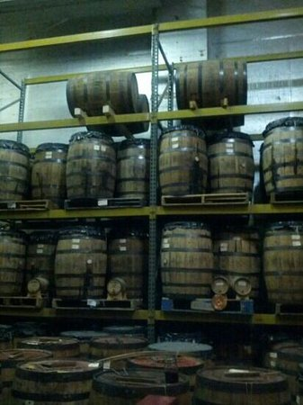 Sperryville, VA:                   barrel room