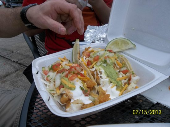 Fish tacos picture of california tacos to go tampa for California fish tacos