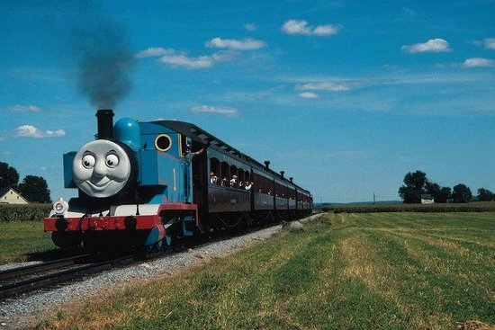 Hilton Garden Inn Lancaster: Thomas the Tank