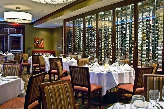 Hilton Garden Inn Durham Southpoint: Ruths Chris Wine Room