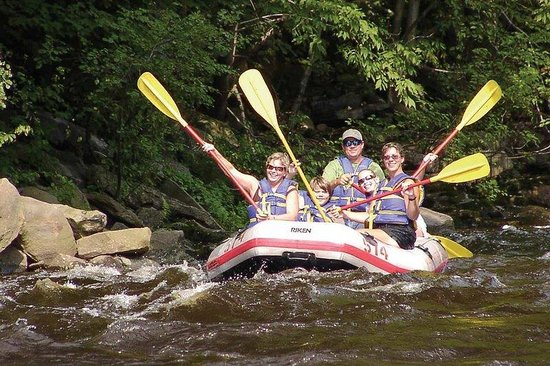Hilton Garden Inn Wilkes Barre: Whitewater Challengers