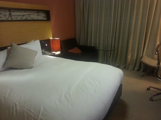 Hilton Manchester Airport: My room.