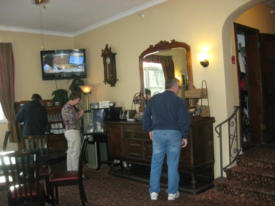 The Inn on Third:                                     Front room for registration, breakfast and socializing