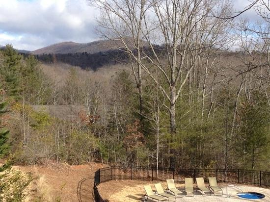 Mountain Laurel Creek Inn & Spa:                   View from the Mountain View room