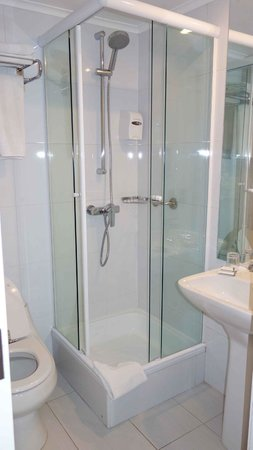 Plaza El Bosque Suites:                   Superior Quadruple - tiny second shower