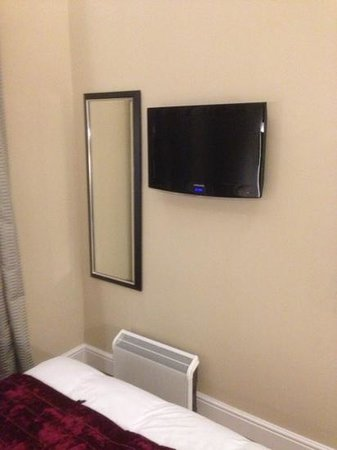The Belgrave:                   TV in room 110