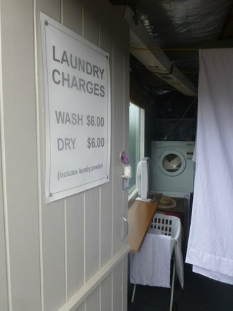 Barbara's Guesthouse: Guest laundry at a nominal charge