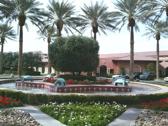 The Westin Lake Las Vegas Resort & Spa:                                                                         Entrance of Hotel
