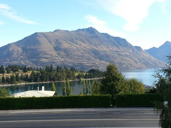 Copthorne Hotel & Apartments Queenstown Lakeview:                   The view from my 2nd floor room