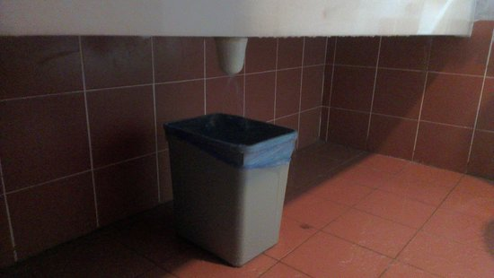 Teluk Dalam Resort:                   dustbin to fill in water drops from the sink