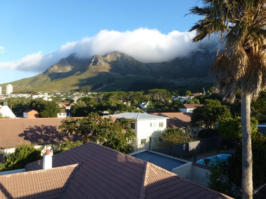Southern Comfort Guest Lodge:                   Roof Top View towards Table Mountain