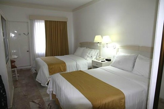 Holiday Inn Express Cancun Zona Hotelera: Unser Zimmer