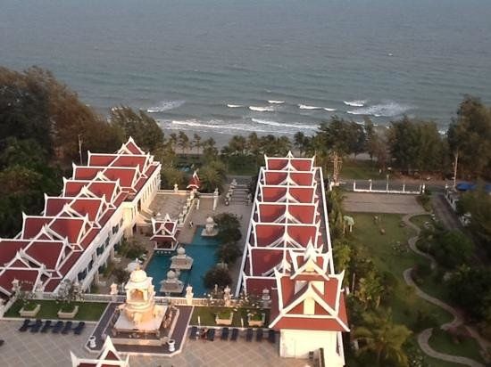 Grand Pacific Sovereign Resort &amp; Spa:                   from 12 floor (with the ipad) sorry for bad quality..